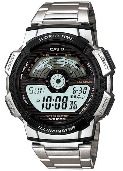 Casio Collection - AE-1100WD-1AVEF - Casio - Digitálne hodinky 53a87a759cc